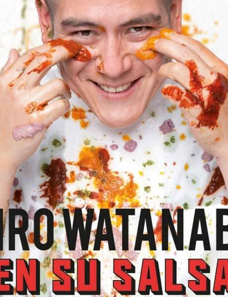 Participa por el libro En su salsa de Ciro Watanabe