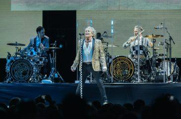 La gran fiesta de Rod Stewart en su regreso a Chile