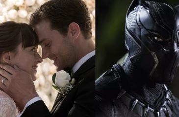 Asistentes pagaron por ver Black Panther: Cine proyectó Cincuenta sombras más oscuras