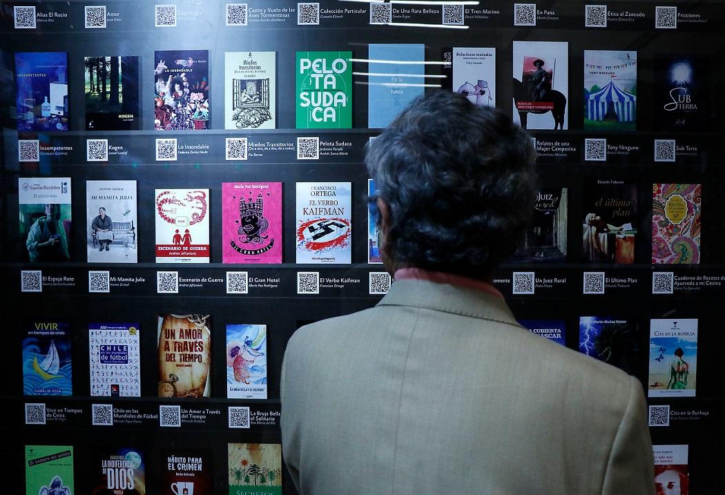 Inauguran en Chile primera biblioteca digital en el metro