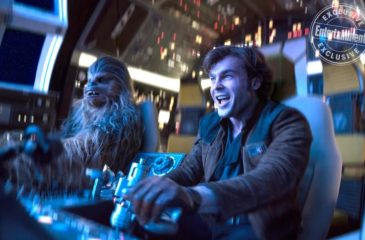 Revelan nuevas imágenes de la película de Han Solo