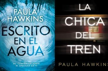 Participa por La chica del tren y Escrito en el agua de Paula Hawkins