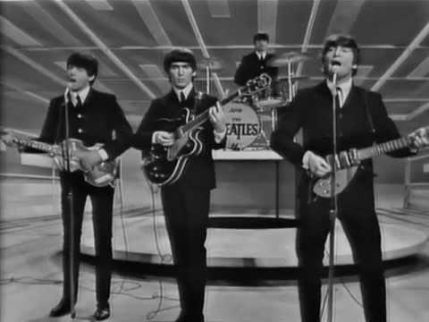 The Beatles I Wanna Hold Your Hand Ed Sullivan 09 De
