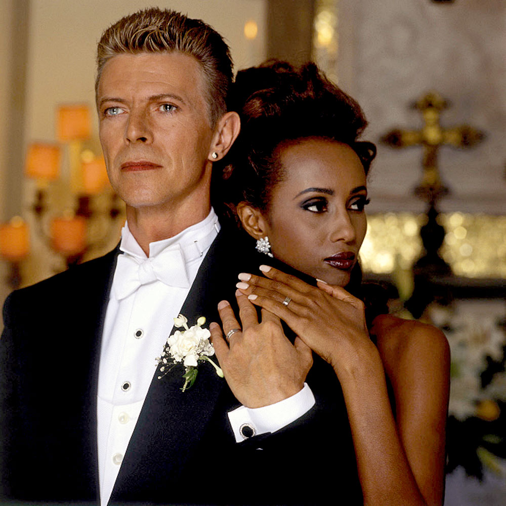 efem ride recordamos el matrimonio de david bowie y la modelo iman radio concierto. Black Bedroom Furniture Sets. Home Design Ideas