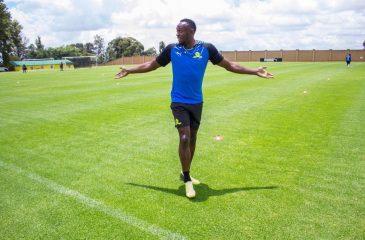 Usain Bolt jugará en la primera división de Sudáfrica