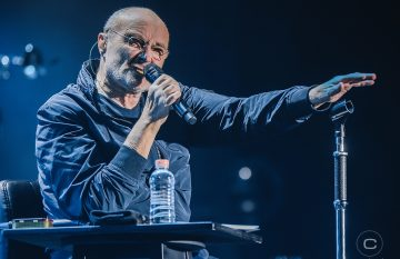 El histórico regreso de Phil Collins a Chile, junto a The Pretenders