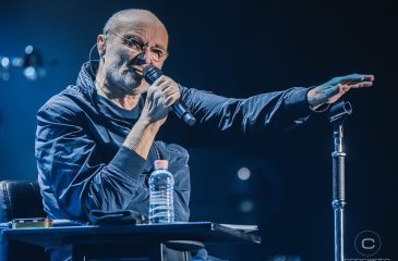 El histórico regreso de Phil Collins a Chile, junto a The Pretenders