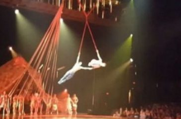 Acróbata del Cirque Du Solei murió tras caer en medio de espectáculo en Florida