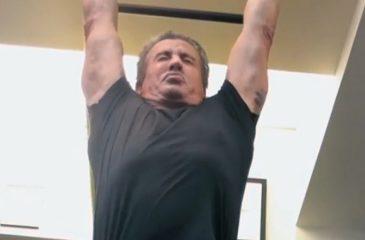 Sylvester Stallone volvió a entrenar a los 71 años: Los fans quedaron impresionados