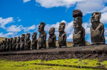 Los moáis de la Isla de Pascua están por desaparecer