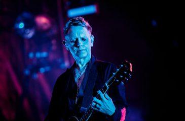 Martin Gore de Depeche Mode estuvo en el show de Gorillaz en Chile