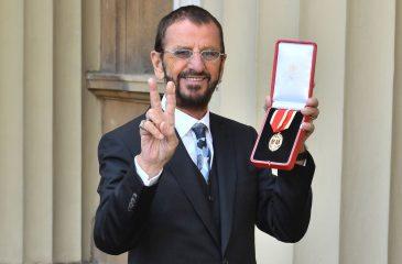 Ringo Starr fue nombrado caballero del Imperio Británico
