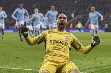 Claudio Bravo será titular en el Manchester City por Champions League