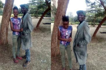 Proyecto fotográfico transformó a pareja de indigentes en modelos