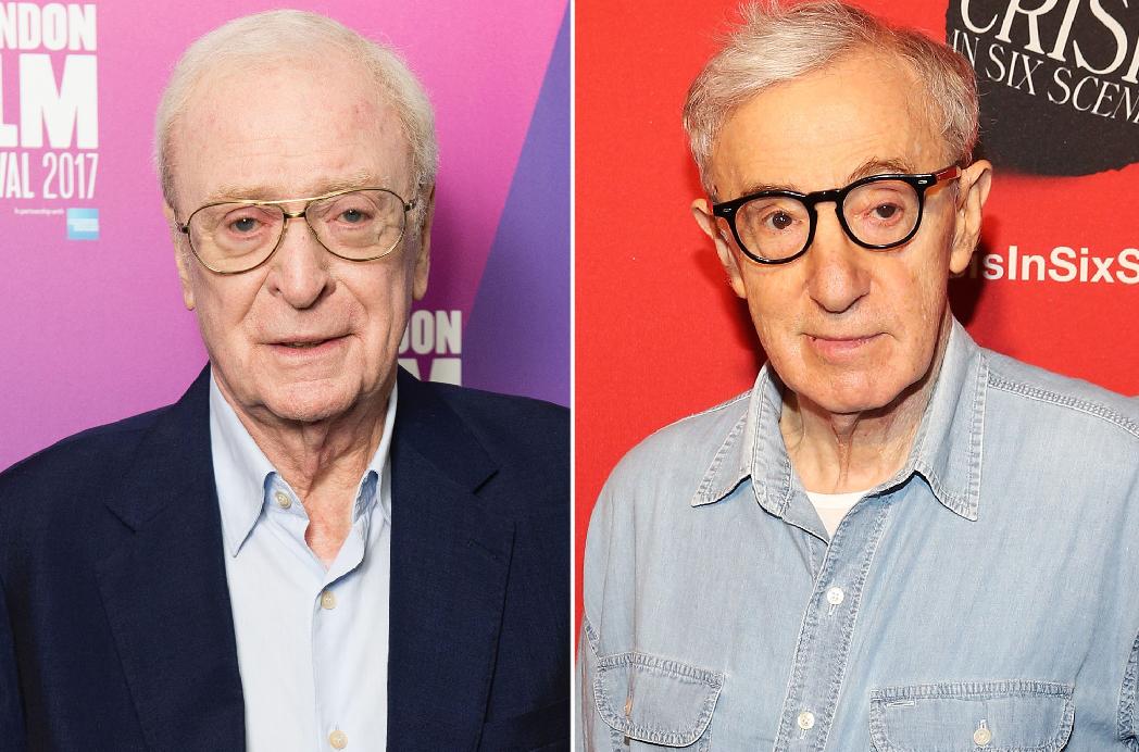 Michael Caine reveló que no volvería a trabajar con Woody Allen