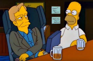 Los Simpson rindieron homenaje a Stephen Hawking