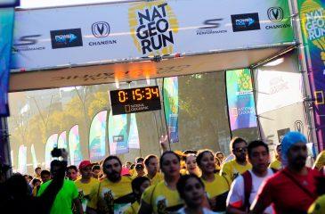 """Corrida Nat Geo Run cambió su recorrido por la marcha """"No + AFP"""""""
