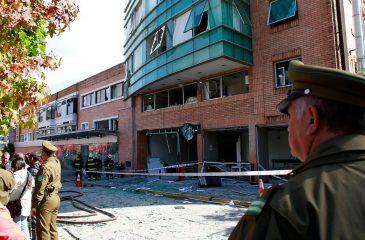Tres muertos dejó explosión en Sanatorio Alemán de Concepción