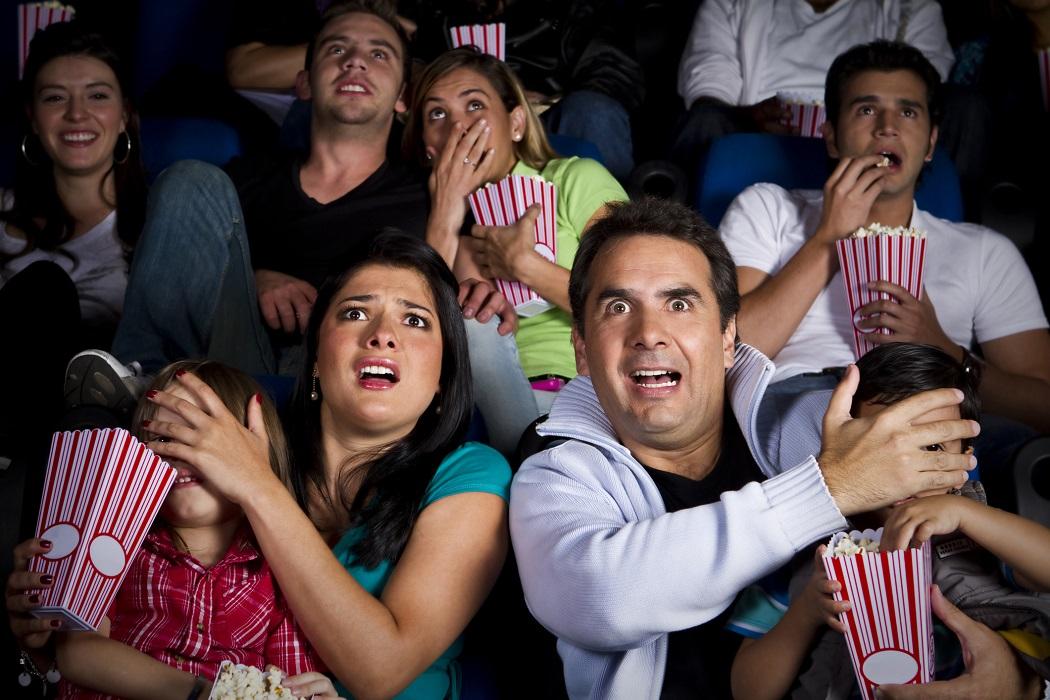 Fueron a ver una película infantil y pasaron un trailer de terror