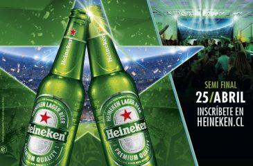 Live in Chile: Heineken invita a vivir lo mejor de la Champions y la música para las semifinales