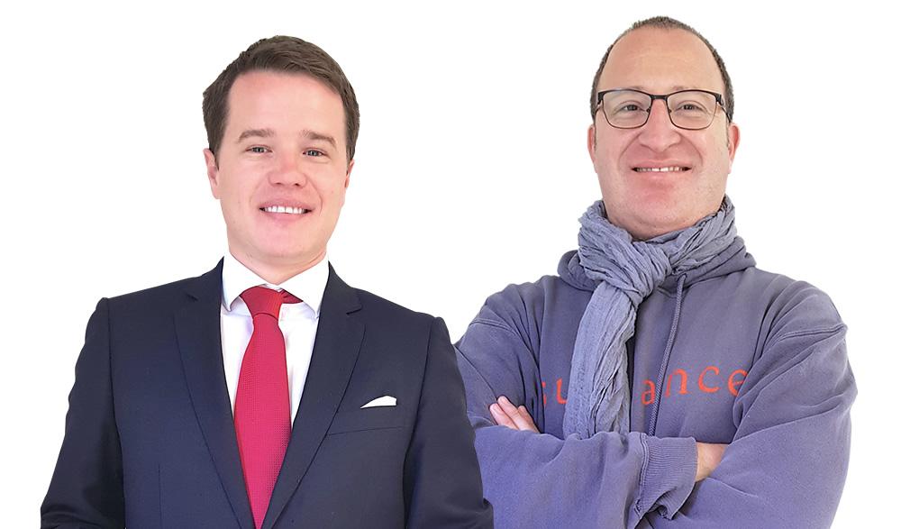Davor Gjuranovic y Christian Barreau