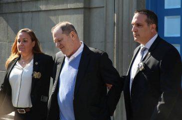 Harvey Weinstein se entregó a la policía tras ser acusado de violación