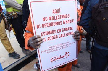 Cursan primer parte por acoso callejero en Las Condes