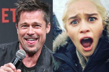 Emilia Clarke confirmó que Brad Pitt intentó comprar una cita con ella
