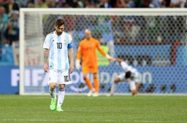 Croacia le propina paliza mundial a Argentina y lo deja cerca de la eliminación