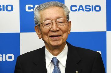 A los 89 años murió uno de los cofundadores de Casio
