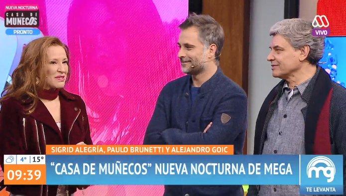 Alejandro Goic se arrancó al ver a Patricia Maldonado en Mucho Gusto