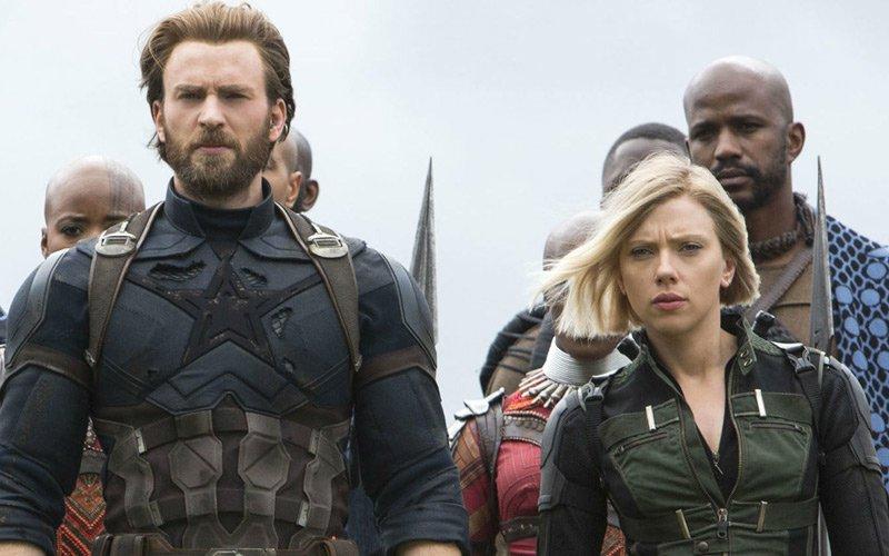 La nueva apariencia del Capitán América y Black Widow en Avengers 4