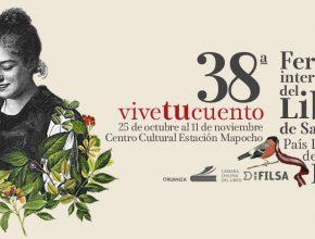 38° Feria Internacional del Libro de Santiago en Estación Mapocho