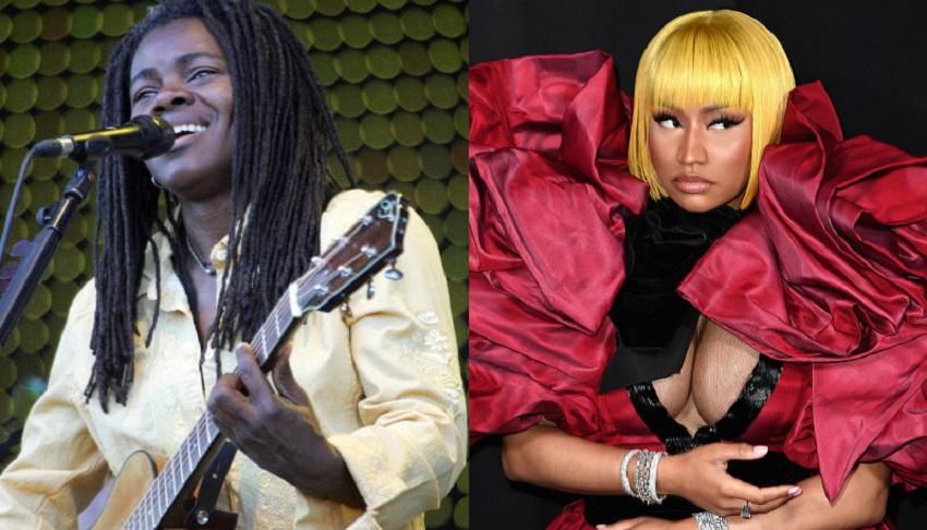 Tracy Chapman demandó a Nicki Minaj por violación de derechos de autor