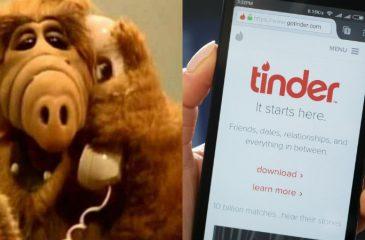 Le cancelaron la cita de Tinder por hacerse el gracioso al imitar a Alf