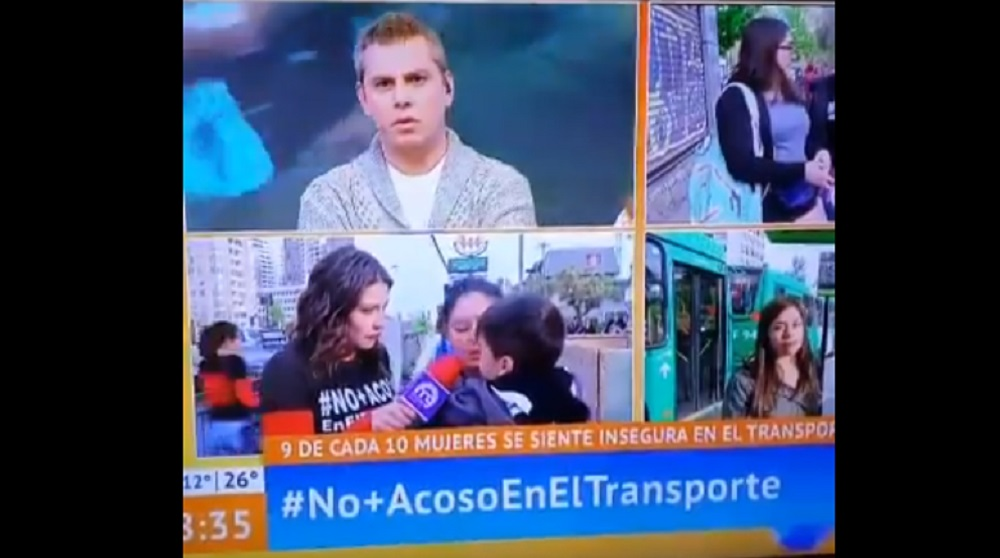 Transeúnte arremetió contra Paty Maldonado en pleno Mucho Gusto