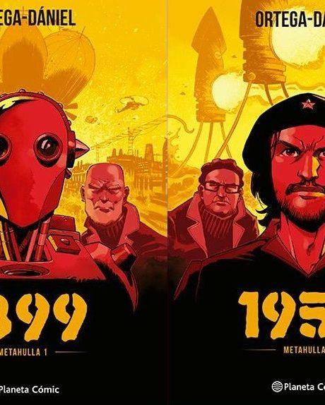 Sorteamos la saga de cómic Metahulla: 1899 y 1959