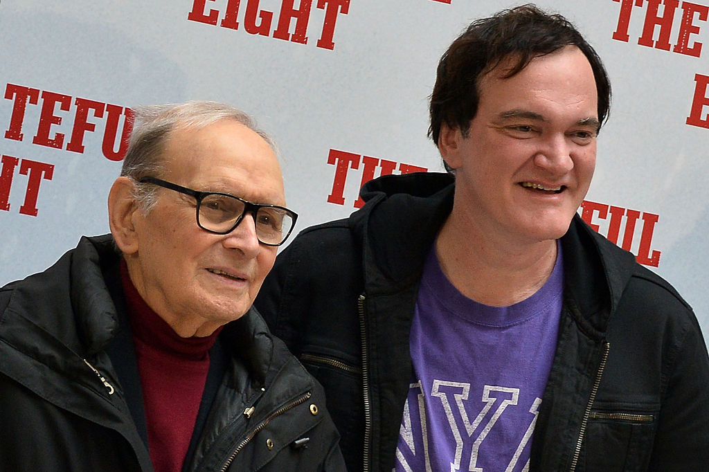 Image result for morricone tarantino