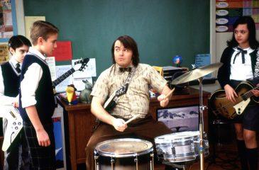 Jack Black se reunió con irreconocible niño baterista de Escuela del Rock