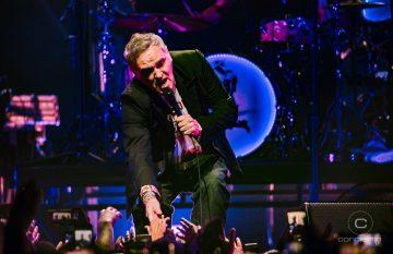 Imágenes de Morrissey en Movistar Arena