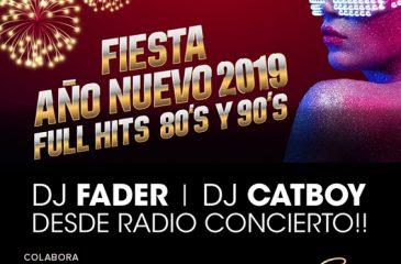 Participa por invitaciones para la Fiesta Año Nuevo Full Hits 80 y 90 en Suka Club