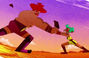 La serie chilena ¡Golpea Duro, Hara! llega a Cartoon Network este mes