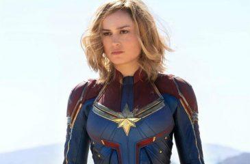 Presentan nuevos posters de Capitana Marvel con personajes de la película