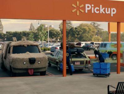 Popular comercial de Walmart incluye los autos más famosos del cine