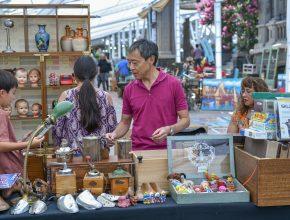 Feria de Anticuarios en Municipalidad de Providencia