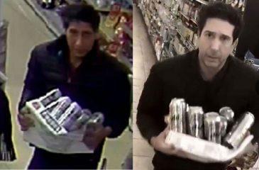 El ladrón que era idéntico a Ross de Friends… no se parece en nada a él