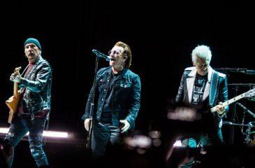 11 de febrero: U2 tocó por primera vez en Chile