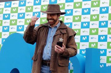 Chuck Norris está en Chile para grabar un comercial