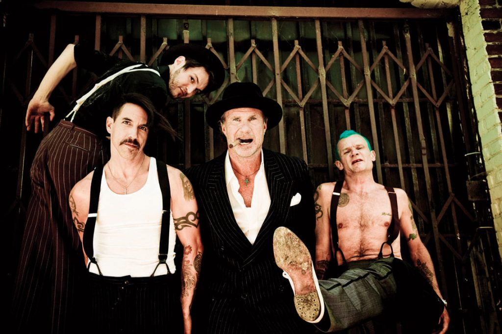Red Hot Chili Peppers transmitirá por 'streaming' concierto en Giza