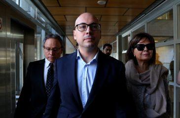 Nicolás López quedó con arraigo nacional y firma quincenal